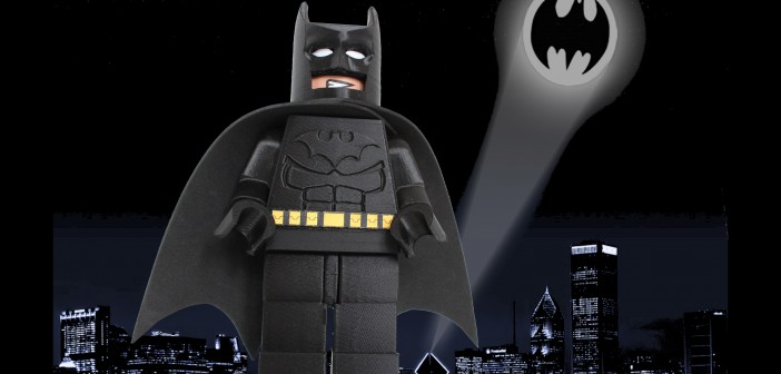 Giant Lego Batman Figure
