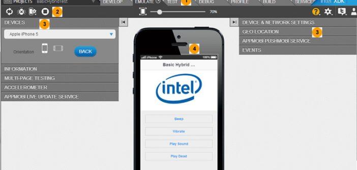 Intel XDK Mobile App Development