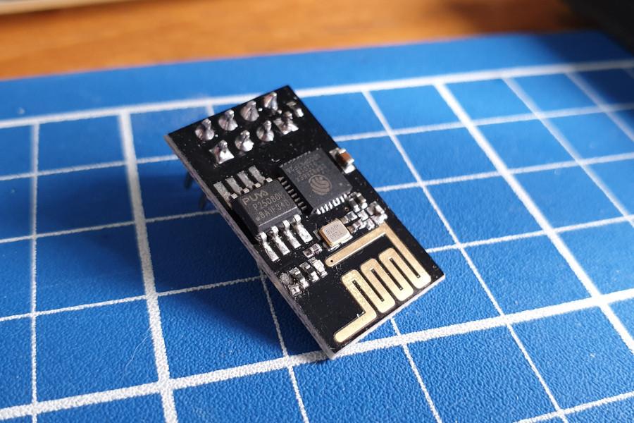 ESP-01 Module (LED removed)