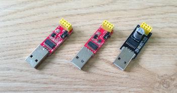 ESP-01 USB Programmers