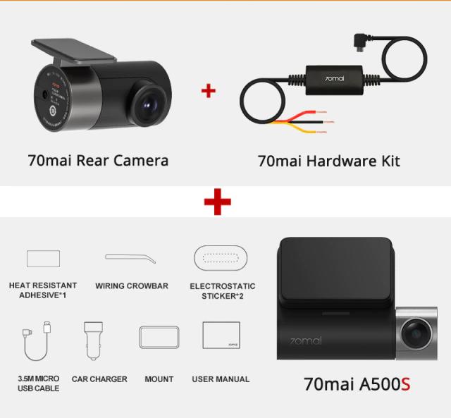 70mai Pro Plus dash cam kit